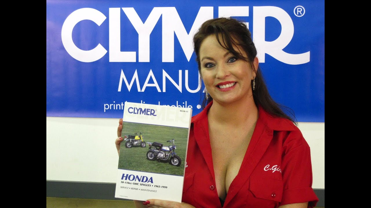 Clymer Manuals Honda 50 110cc Ct90 Manual Trail 90 Manual