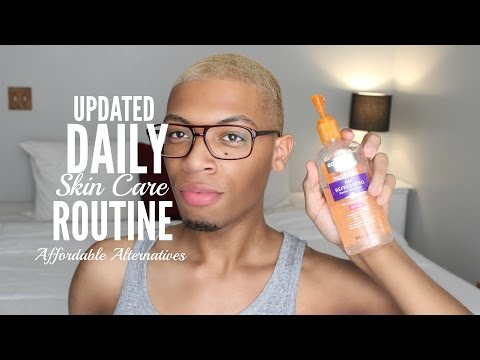 Daily Skin Care Routine (Cheap Alternatives) & Small Drug Store Haul | Absolutely Adonis