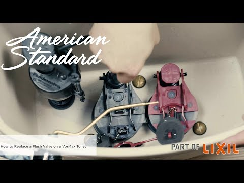 How To Replace A Flush Valve On An American Standard VorMax Toilet