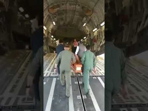 Live Iraq International Airport. 38 of 39 Indian workers Dead Bodies