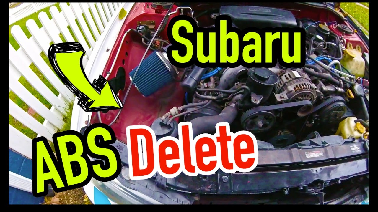 Subaru ABS Delete - Dirtcheapdaily : Ep.33 on