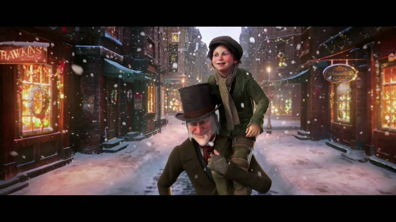 Jim Carrey Christmas Carol.Disneys A Christmas Carol The Event Behind The Scenes Featurette