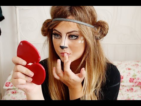 Bambi / Deer Makeup Tutorial | milkteef thumbnail