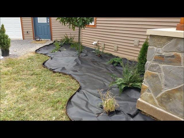 Diy Landscaping The Home Ready For Rock Youtube