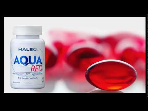 AQUA RED Krill and Fish Oil The Smart Omega 3