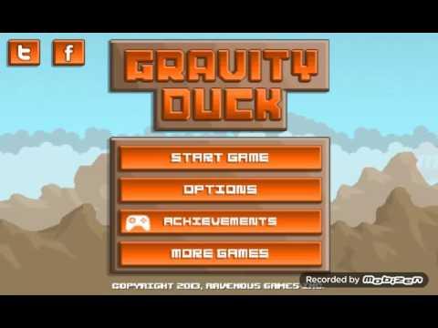 El pato patoso. -Gravity duck-