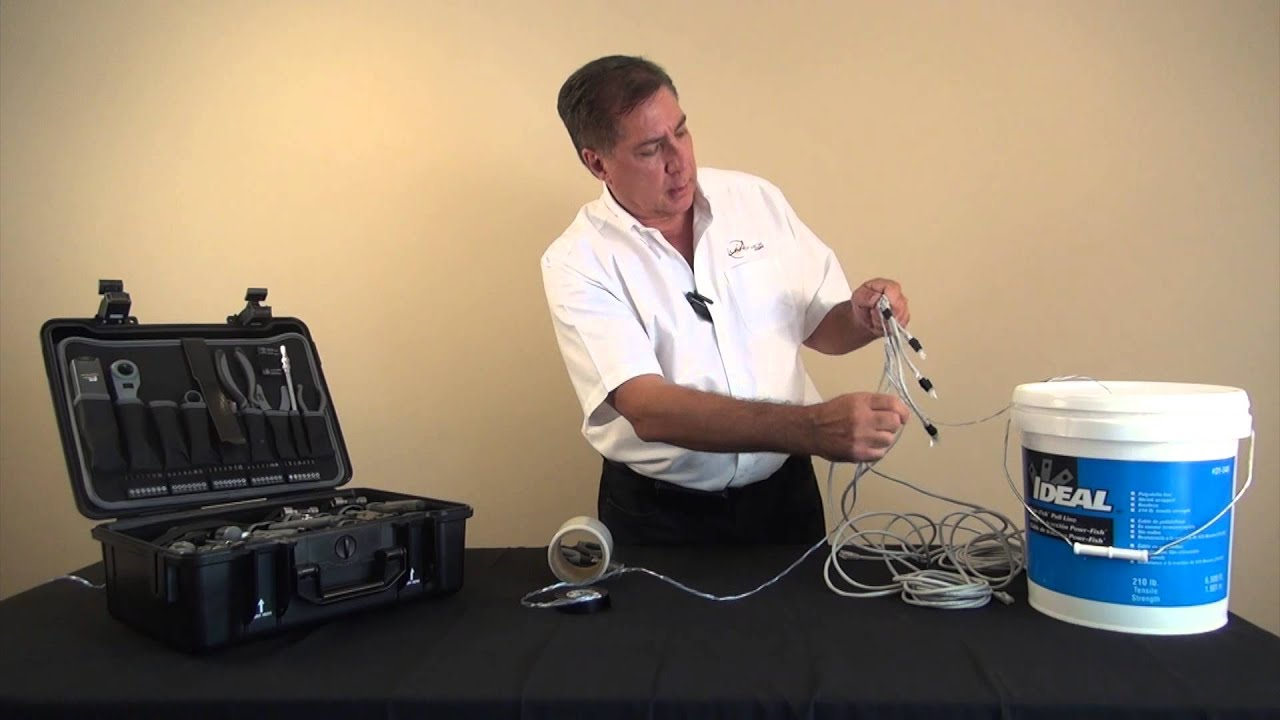 Tech Tip Preparing Various Types of Cables for Pulling - YouTube