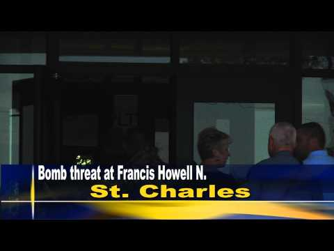 Francis Howell North High School is evacuated because of a bomb threat