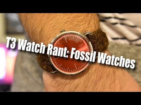My Problem With Fossil Watches