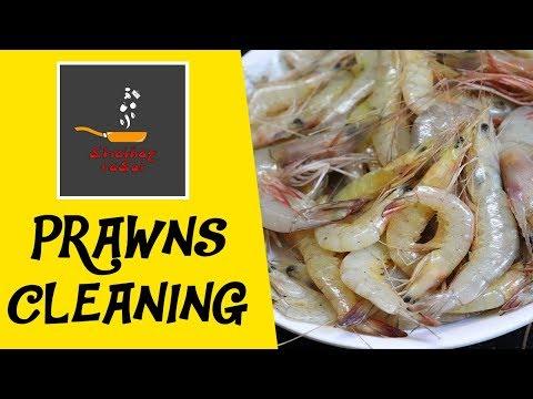 Prawns Cleaning/Deveins the prawns | How to clean prawns by Shainaz Rasoi