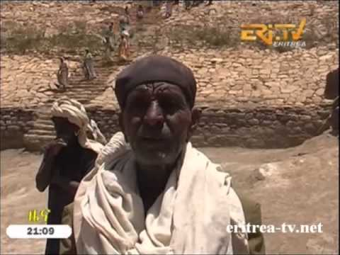 Eritrea News - Nius Zoba Areza - Self Reliance in Water Conservation and Dam Construction