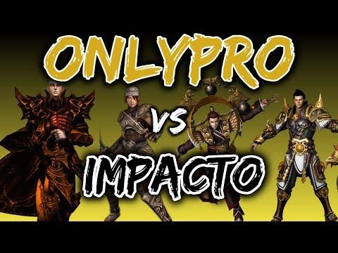 OnlyPrO Vs Impacto   Mejores Gremios 55s PVP