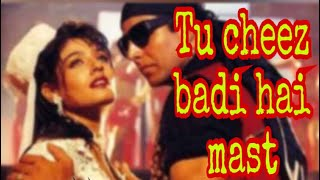 Tu cheez badi hai mast karaoke MP3 HD