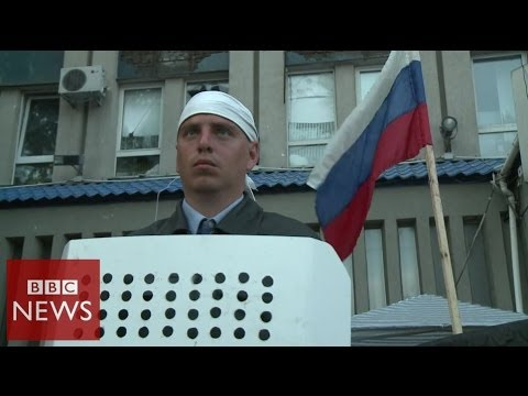 Why do some Ukrainians want to be part of Russia? BBC News