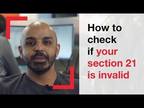How To Check If Your Section 21 Is Invalid | Housing Advice | Shelter