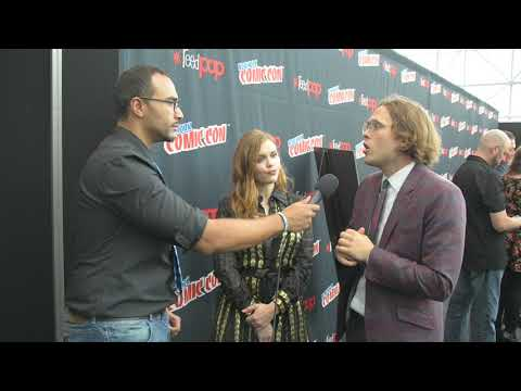 LORE - Brett Patrick Jenkins and Holland Roden Interview - NY Comic Con 2017