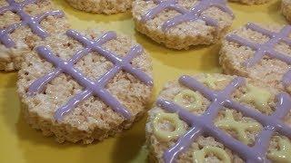 Game Night Treats: Tic-Tac-Toe Crispy Rice Treats