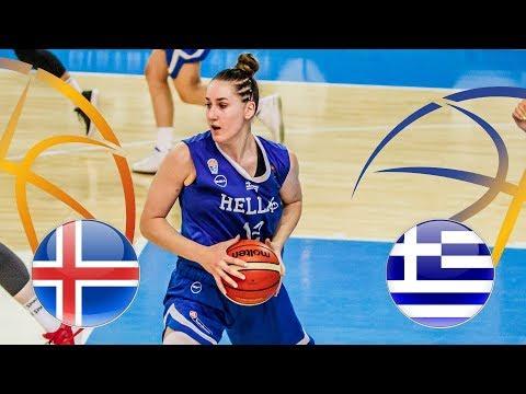 Iceland v Greece – Full Game – Class. 9-12 – FIBA U20 Women's European Championship Division B 2018