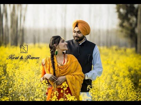 Kirat & Raman    Punjab   Pre Wedding   Nindi Photography