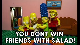 LEGO SIMPSONS: YOU DON'T WIN FRIENDS WITH SALAD
