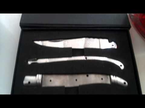 Laguiole knife kit