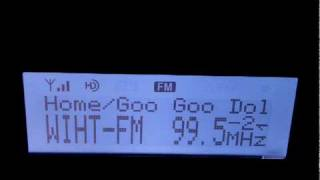 HD Radio Dial Scan Woodbridge, VA, including Washington, Baltimore, Philadelphia