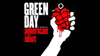 Green Day - Give Me Novacaine - [HQ]