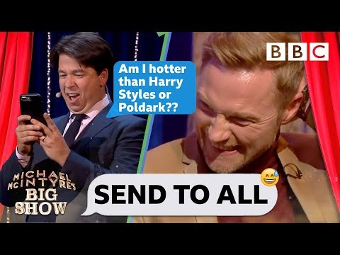 Send To All with Ronan Keating | Michael McIntyre's Big Show - BBC