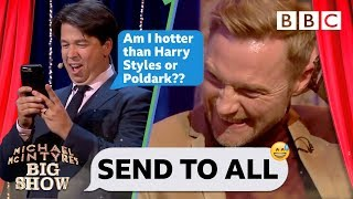 Send To All with Ronan Keating  - Michael McIntyre's Big Show: Episode 2 - BBC One