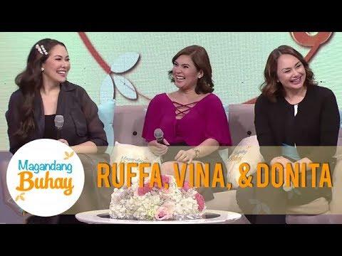 Ruffa, Karla, Donita, and Vina share their bonding moments | Magandang Buhay