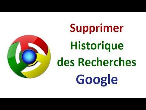 Comment Supprimer L Historique Des Recherches Google Sur Chrome