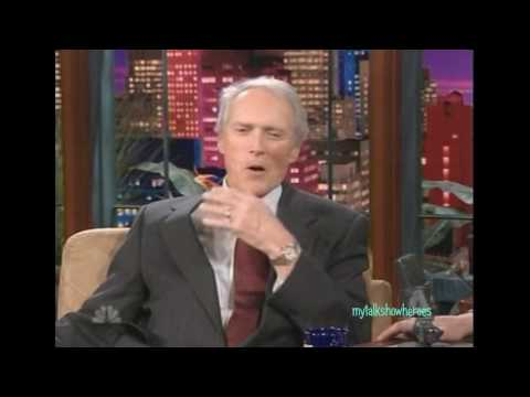 CLINT EASTWOOD'S SINGING DEBUT on 'LENO'