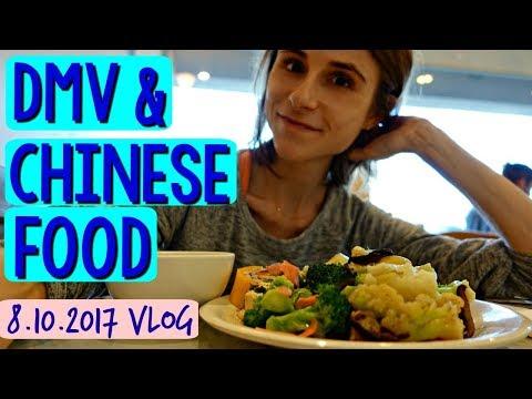 Vlog: DMV, VEGAN CHINESE, NEW ASIAN SKIN CARE MASKS 🚗🍵🙆