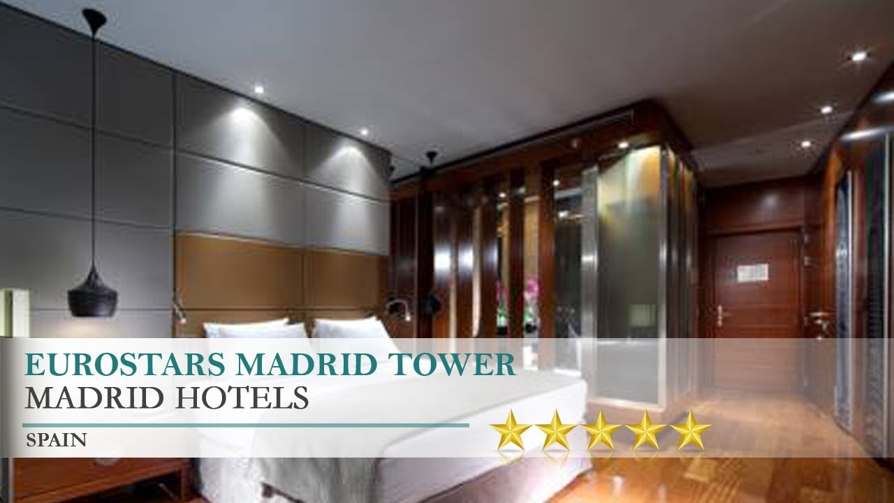 Eurostars Madrid Tower - Madrid Hotels, Spain - YouTube on spanish residential architecture, contact designs, spanish fence design, spanish architecture homes, adobe fence designs, pool mediterranean designs, rustic room interior designs, view front house designs, traditional house exterior designs, spanish colonial revival homes, small tuscan style courtyard designs, cool house designs, spanish curtains design, spanish weddings, ranch style house exterior designs, outdoor entertainment designs, spanish design ideas, spanish fashion,