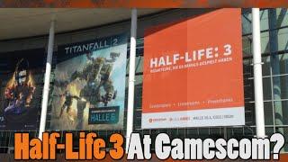 Half-Life 3 Poster Shown At Gamescom?!