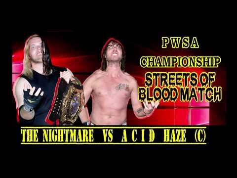 Eddie Draven V Acid Haze (C)  - 30th July 2016 - Pro Wrestling South Australia
