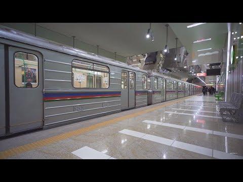 Bulgaria, Sofia, Metro ride from Младост 1 to Александър Малинов