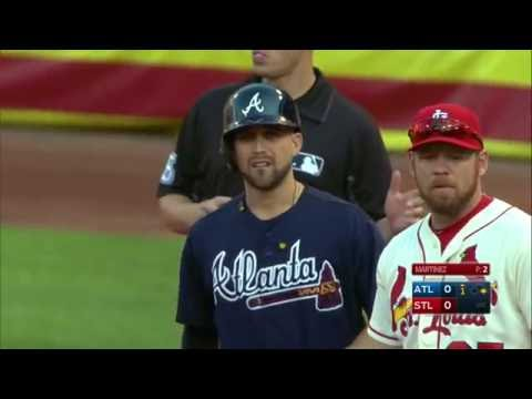 August 06, 2016-Atlanta Braves vs. St. Louis Cardinals