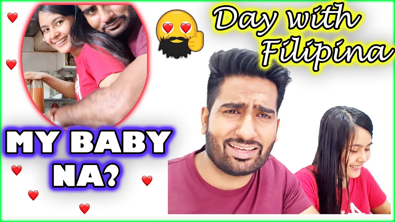Download A Day With Filipina Wife / Hair & Beard Care / Filipino Indian Vlogger