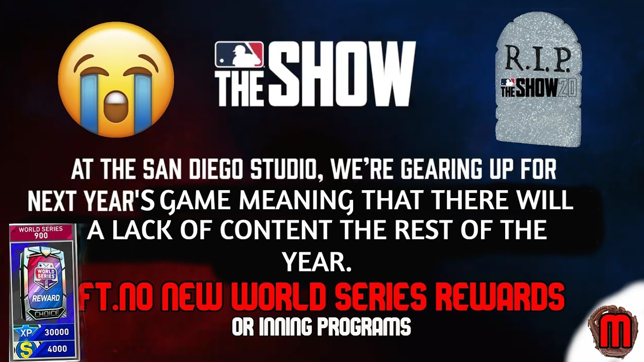 Why MLB The Show 20 is Dying....