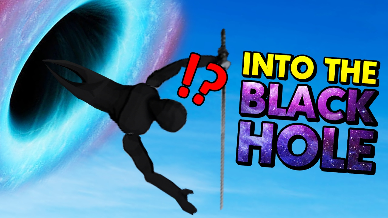 NINJAS SUCKED INTO THE BLACK HOLE! (Sword With Sauce ...