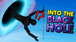 NINJAS SUCKED INTO THE BLACK HOLE! (Sword With Sauce Gameplay)