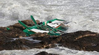 Frenchmen Die in Storm Miguel