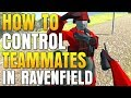 How to Control Teammates in Ravenfield: Squad Commands