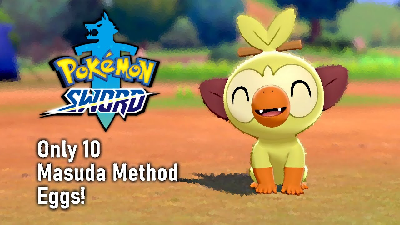 Shiny Grookey Only 10 Masuda Method Eggs Youtube You can find grookey in the following locations: youtube