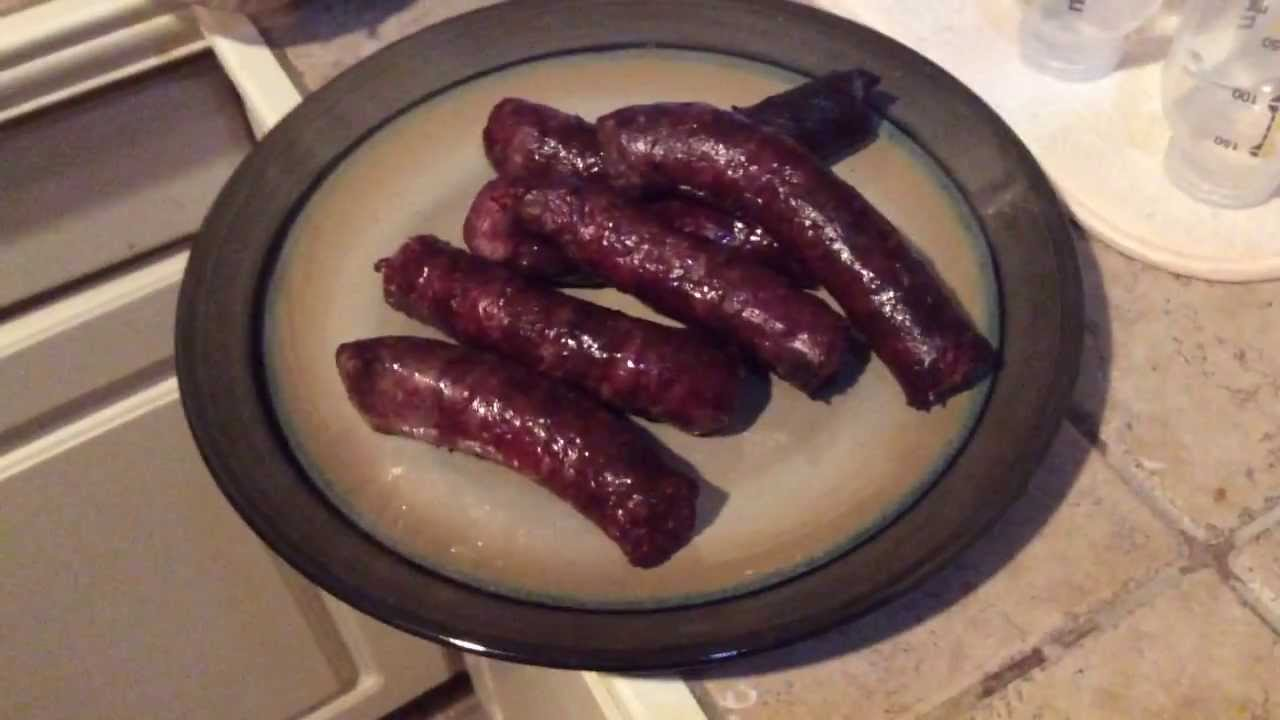 how to make deer sausage