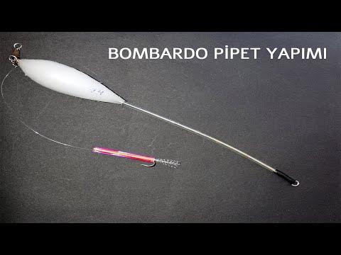 Top Arkası PİPET YAPIMI - Bombardo Pipet Yapımı-yazılı Orkinos Pipeti