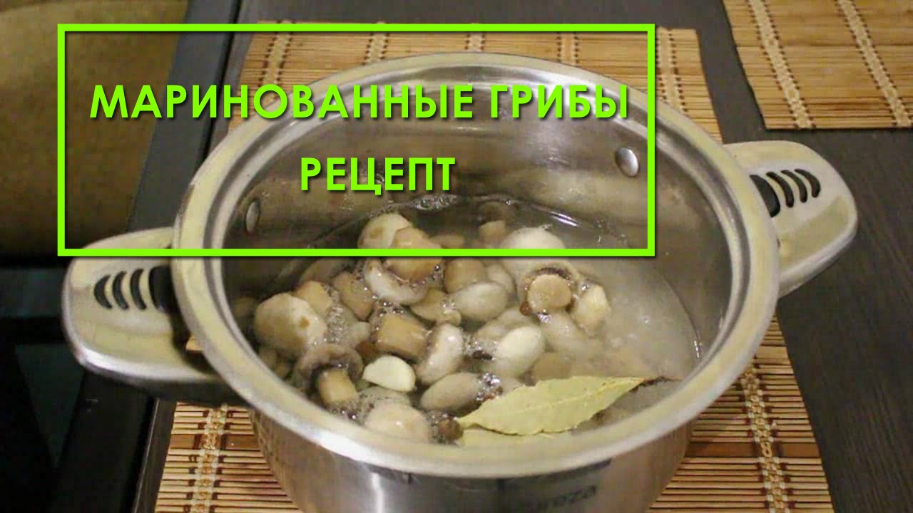 Как замариновать грибы шампиньоны