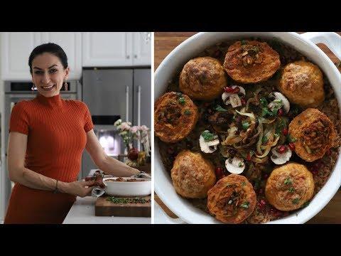 Армянская Кюфта с Грибной Начинкой - Плов из Полбы - Рецепт от Эгине - Heghineh Cooking Show