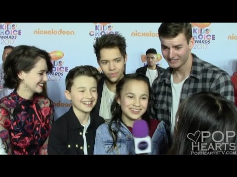 Hunter Street Cast at the Nickelodeon Kids Choice Awards